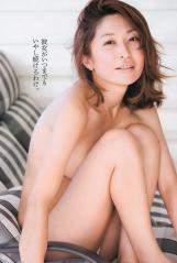 小野真弓のほぼ全裸に見えるトップレス画像