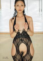 壇蜜透け透けガードル手錠ヘアヌード画像