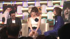 橋本奈穂子の脚もムチムチなエロ画像