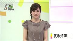 鈴木奈穂子、朝の顔の笑顔画像