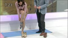 鈴木奈穂子のエロ過ぎる靴下履き画像