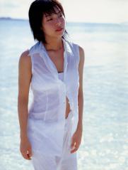 相武紗季がビキニの上にスケスケ衣装を着た画像