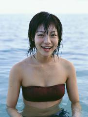 相武紗季の濡れ濡れビキニおっぱい画像