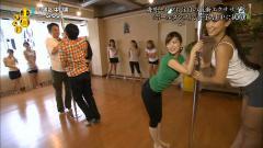 生野陽子がポールダンスで尻を突き出すエロポーズ画像