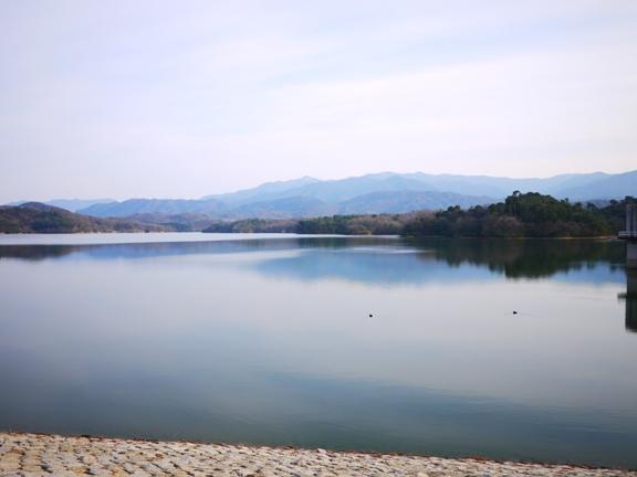 満濃池は、釣り禁止だそうです。