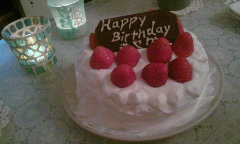 27th誕生日パーティ