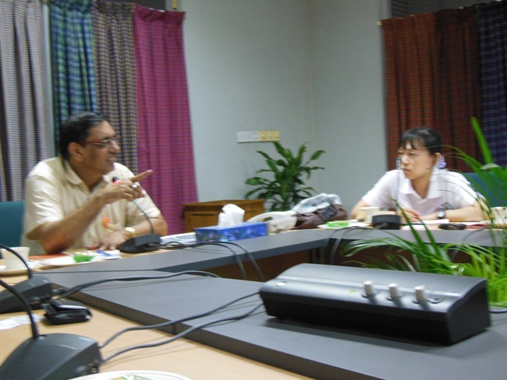Discussion with Grameen Bank Senior Management