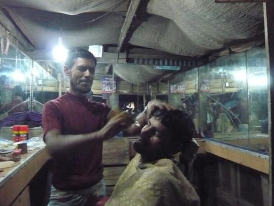 Garjon Bunia Bazarの様子①