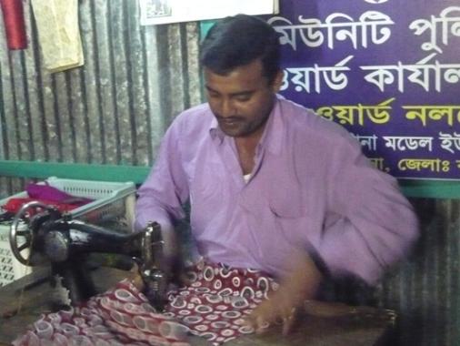 Garjon Bunia Bazarの様子④