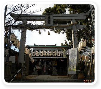 新春 八坂神社