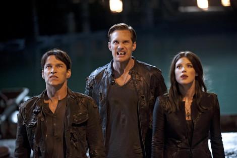 true blood s5 eric, bill, nora