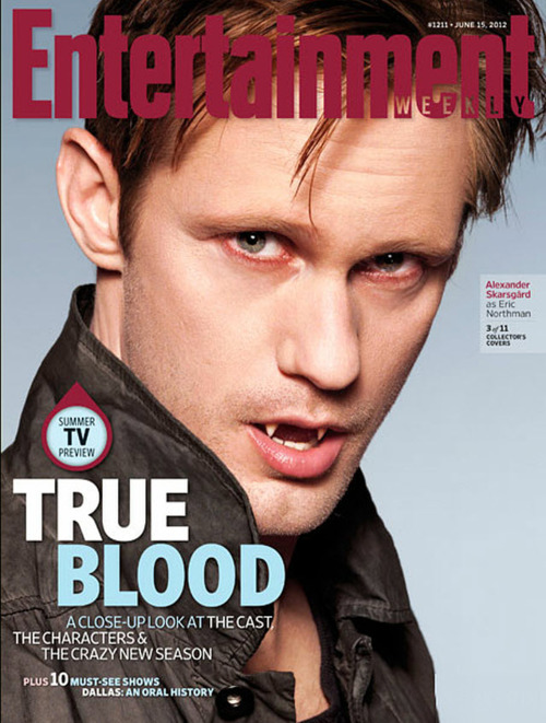 eric on the cover of ew