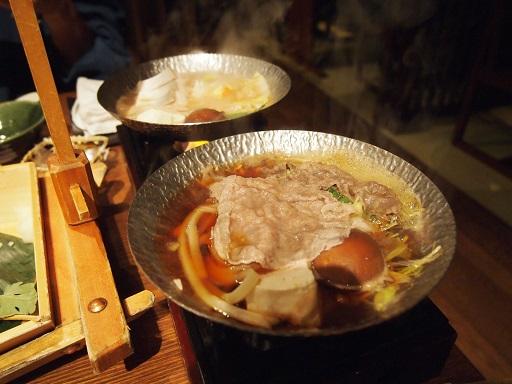 20140119海舟鍋すき焼き