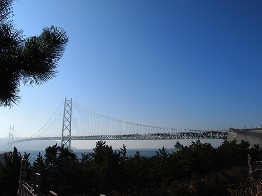舞子ビラ景色明石大橋