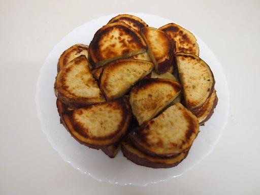 サツマイモバター焼き