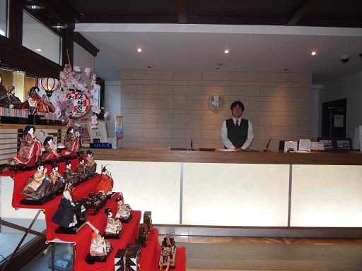 20140131日光ステーションホテルフロント