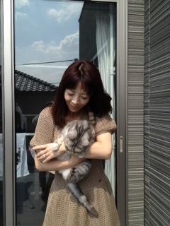 愛猫ちゃんと・・・