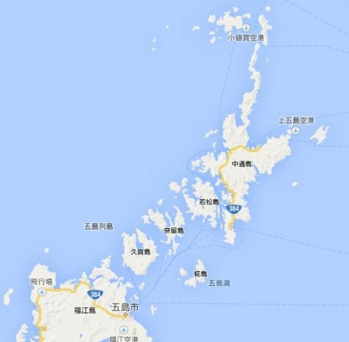 五島MAP