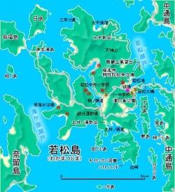 若松島MAP1