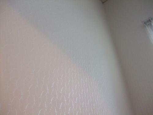 階段壁紙張替え