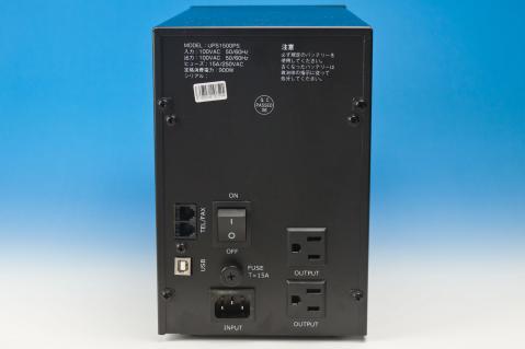 サウンドハウス UPS 1500PS 背面