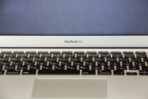 MacBook Air 2012 13インチ ロゴ
