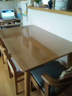 テーブル○