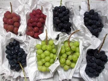 葡萄がいっぱいよ