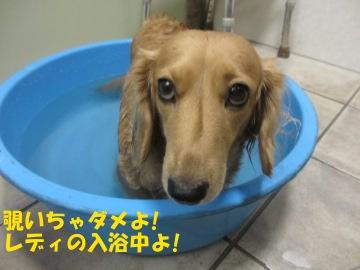 お風呂に浸かって2