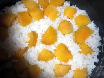 安納芋ご飯2
