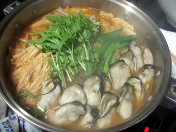 かきキムチ鍋