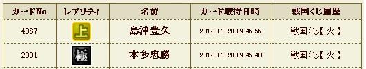 日記S29 火クジ5