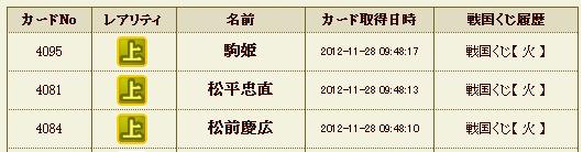 日記S29 火クジ6
