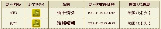 日記S29 火クジ7