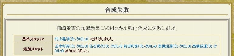 日記S84 スキル合成1