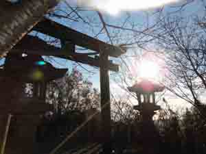 高取神社とりい