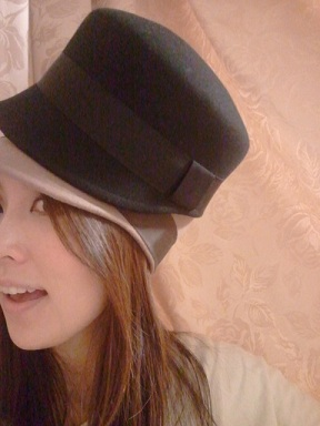 ELLE帽子着画3