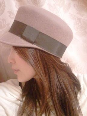ELLE帽子着画1