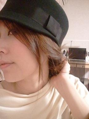 ELLE帽子着画6