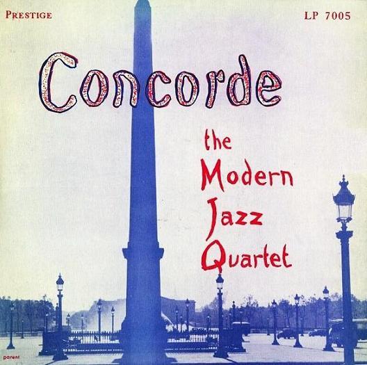 Modern Jazz Quartet Concorde Prestige PRLP 7005