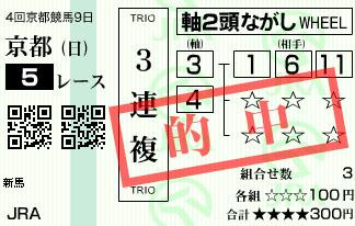 1027京都10R