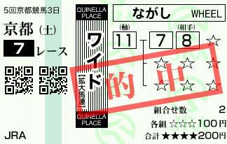 1110京都7R