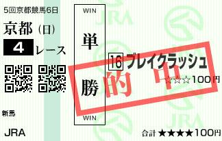 1118京都4R