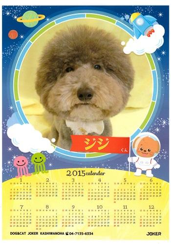 ジジさんカレンダー2015