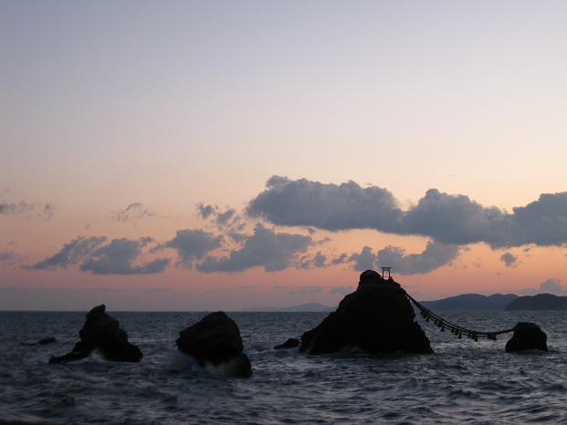2013伊勢旅行:夫婦岩