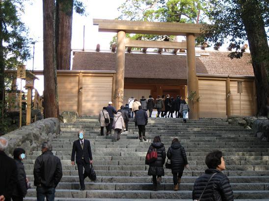 2013伊勢旅行:伊勢神宮内宮2