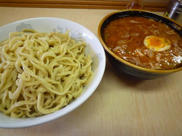 12年5月26日 京成大久保 つけ麺