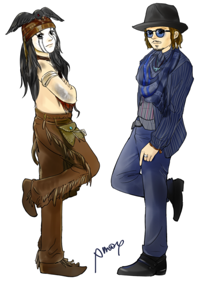 mr_and_mr_depp_by_amoykid-d5hq614.png
