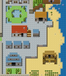 サンフラワー港町マップ