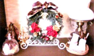 クリスマスリースコーナー